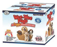 Wee Wee Pads For Puppies, 150 Count :: Training Pads :: Sanitation :: Dog :: Pet Supply Center :: CountryMax.com