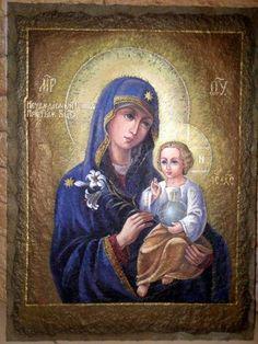 "Икона Божией Матери ""Неувядаемый Цвет"" aka Our Lady of Fadeless Color"