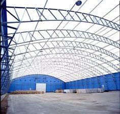 Estructura Mètálica para soporte de techos en naves y/o galpones.