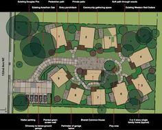 Pocket Neighborhood Eco-village small community layout plan