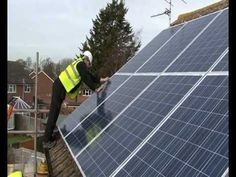 More and more homes in the UK are turning to installing solar panels to beat rising electricity bills and take advantage of Government feed in tariffs. Installing solar is easier than you think. See this video of a typical Renewable Resources installation