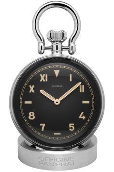 沛納海 (Panerai) [NEW] PAM 651 V6F Table Clock Sphere 65mm California Dial (Retail:HK$40,300) - Spring Break Special at:- HK$33,500.