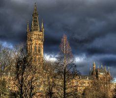 University of Glasgow. My heart belongs to Glasgow, dear old Glasgow town.....