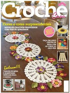 Cool doily-to-table-runner idea! Patchwork Quilting, Crochet Dollies, Crochet Magazine, Crochet Books, Doilies, Diy And Crafts, Crochet Earrings, Crochet Patterns, Magazines
