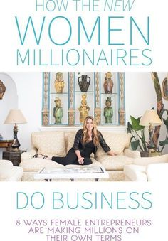 8 Ways Female Entrepreneurs Are Making Millions on Their Own Terms… talk entrepreneur tips - career advice - small business - business tips - business strategy Business Advice, Business Entrepreneur, Business Planning, Business Marketing, Business Women, Online Business, Career Advice, Entrepreneur Stories, Business Grants