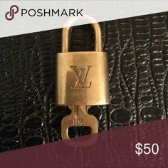 Louis Vuitton authentic lock and key Beautiful item Louis Vuitton Accessories
