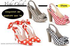 Trend Alert// Vichy Check per scarpe anni '50