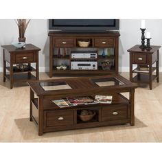 Found it at Wayfair - Bellingham Coffee Table Set
