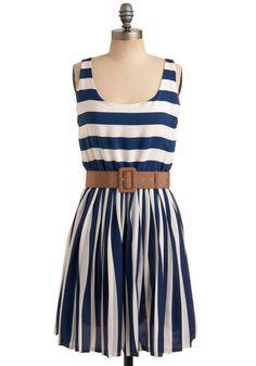 love. navy. blue. white. stripes.