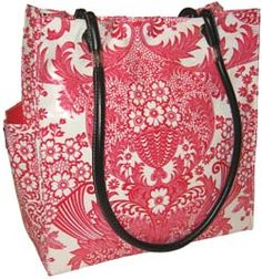 Grenadine Day Flee - Fleebags Oilcloth Handbags for Women on the Fly