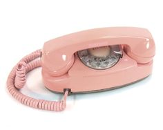 I had this  phone in blue, got it for my b-day my freshman year of high school. The ringer was in a box connected to the phone jack, because the phones were too small to contain it. Princess phone = good times. K