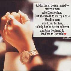 i need a muslim husband