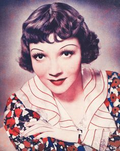 Claudette Colbert. Really enjoy a lot of her work. She was a great actress. Love her in It Happened One Night.