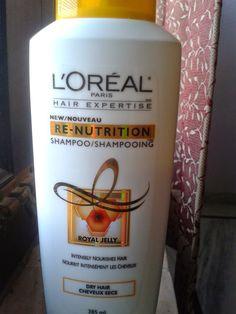 Makeup: L'Oreal Paris Hair Expertise New Re-Nutrition sham...