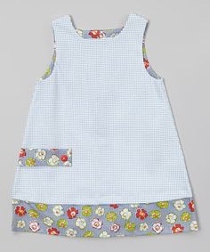 Look at this #zulilyfind! Navy Dots Shift Dress - Toddler & Girls by Anna Bouché #zulilyfinds