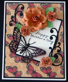 Mother's Day Monarch by tlfrank - Cards and Paper Crafts at Splitcoaststampers