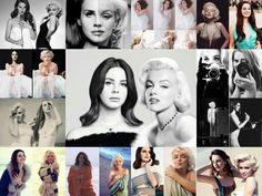 Lana Del Rey + Marilyn Monroe similarities #LDR