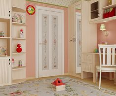 Двери #Волховец коллекция Galant. Цвет Белый шелк. http://floors-doors.ru/mezhkomnatnye-dveri/volhovec/galant.html
