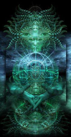 The Mind of  consciousness - artist? (no link)