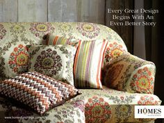 Make your #Home look regal with our splendid designs #OnlyWithHomes!! Explore more on www.homesfurnishings.com #HomeDecor #HomeFabrics #Cushions #Upholstery #Furnishings #HomesFurnishings #Interior