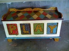 Fabulous toy chest for the kiddos