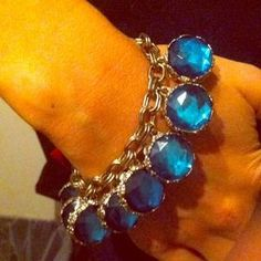 I just discovered this while shopping on Poshmark: Moroccan style costume bracelet. Color blue/gold. Check it out!  Size: 8 1/2inches wide