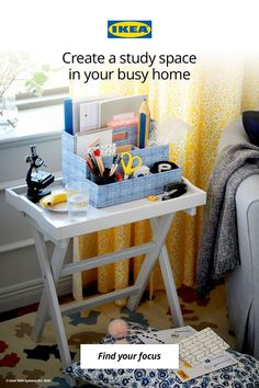 When your busy home is doubling as a classroom, learning and studying are even more of a challenge for students of all ages. From designated study zones and smarter organization to multi-functional space solutions, here are some ideas for staying focused.