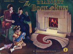 Valerie - Readicut Rugs catalogue 1940