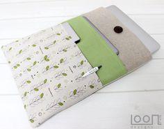 Macbook Air case Macbook Pro 13 Retina Sleeve by LOONdesigns