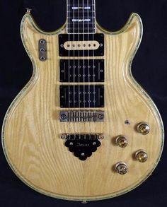 Ibanez 2617 Artist Electric Guitar w/Case Jerry Garcia Mod 1978 Natural Guitar Room, Guitar Art, Guitar Chords, Cool Guitar, Custom Electric Guitars, Custom Guitars, Guitar Chord Progressions, Dead Pictures, Cheap Guitars