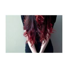 dip dye | Tumblr ❤ liked on Polyvore featuring hair, people, backgrounds, pictures and hairstyles