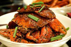 cracked black pepper crab