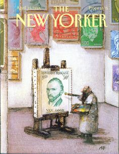 Les couvertures du magazine The New Yorker The New Yorker Cover 28 featured design art