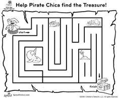 Pirate Printables, Free Kids Activity Sheets,Free Dot to Dot Games ...