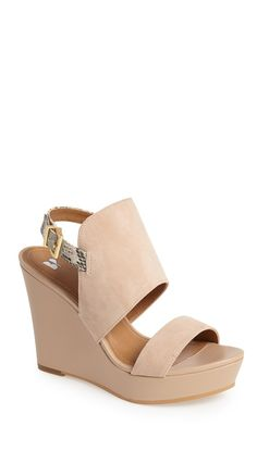 neutral suede wedge - best of Nordstrom Anniversary Sale