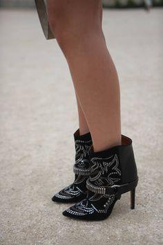 isabel marant design booties
