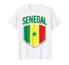 57bcb540f 2018 Senegal World Flag Football T Shirt Soccer Jersey Cup