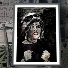"""Poly"" - Canvas / Poster Print - PUNX.UK http://punx.uk/product/poly-canvas-poster-print/"