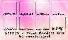 Set029 - Pixel Borders 019 by wolfgrrlone.deviantart.com on @deviantART