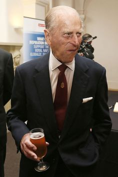 Prince Philip, Duke of Edinburgh attends a reception after the renaming ceremony for 'The City Of Adelaide' clipper ship at the Old Royal Navy College, in Greenwich, England Elizabeth Philip, Queen Elizabeth Ii, Hm The Queen, Save The Queen, Prince Phillip, Prince Charles, Queen Husband, Duke Edinburgh, Elisabeth Ii