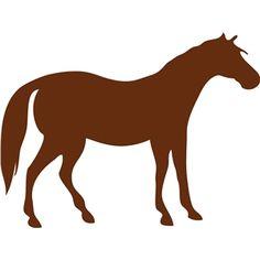 Silhouette Design Store: horse
