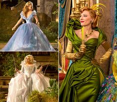 Cinderella Costumes: From Sketches to Movie