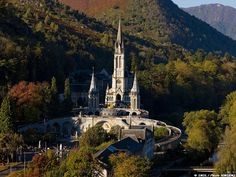 Sanctuary of Our Lady of Lourdes - Lourdes, France