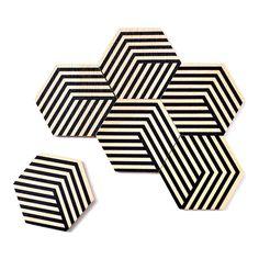 Areaware Table Tiles - Goop