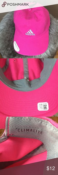Adidas Climalite pink women's cap NWT Adidas climalite women's pink cap. adidas Accessories Hats