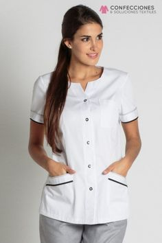 Uniformes para medicos - Confecciones cstradha, Santo Domingo, RD Spa Uniform, Hotel Uniform, Scrubs Uniform, Medical Uniforms, Work Uniforms, Doctor White Coat, Salon Wear, Scrubs Pattern, Lab Coats