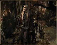 Thranduil - I don't know where he's going, but I'm going too!  :)