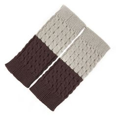 Knit Leg Warmers in Cool Grey, 38% discount @ PatPat Mom Baby Shopping App