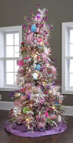 Pink gumdrop tree