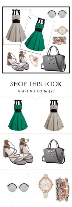 """""""Rosegal"""" by thefashion007 ❤ liked on Polyvore featuring Jessica Carlyle and vintage"""
